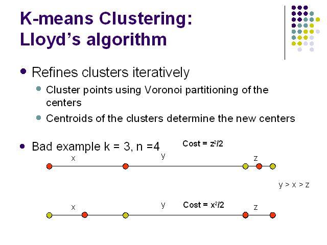 K Means Clustering K-means Clustering: Ll...