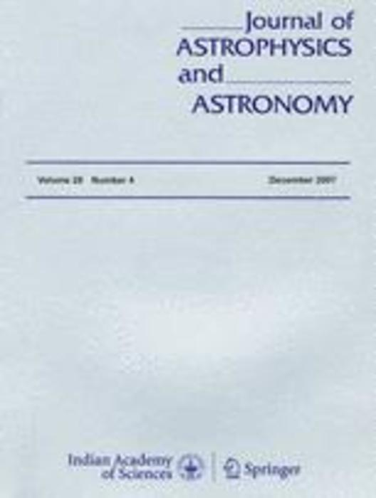 Journal of Astrophysics and Astronomy   Indian Academy of Sciences