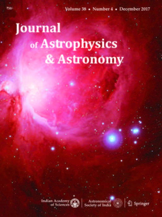 Journal of Astrophysics and Astronomy | Indian Academy of ...